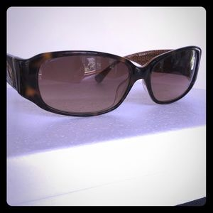 Coach Keri tortoise shell sunglasses